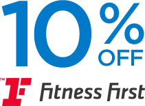 10% off Fitness First