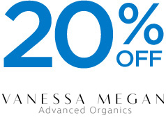 20% off VANESSA MEGAN